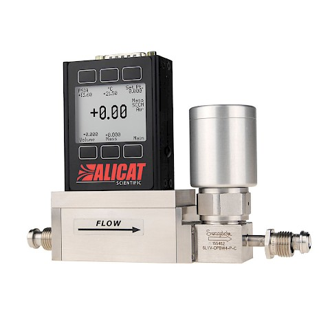 Alicat MCV Vacuum Series Mass Flow Controller for use with Gases