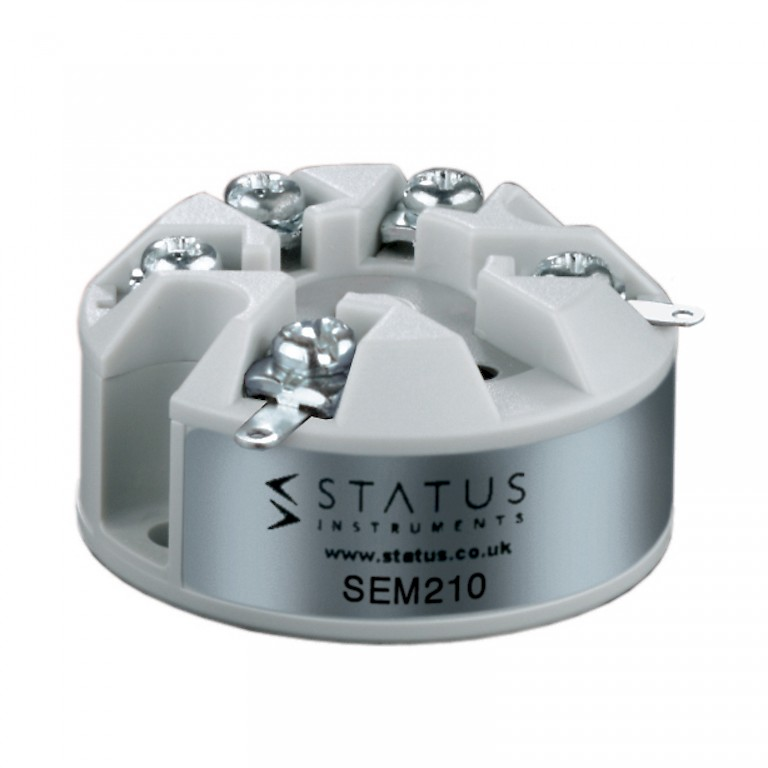 Status SEM210 In Head Temperature Transmitter