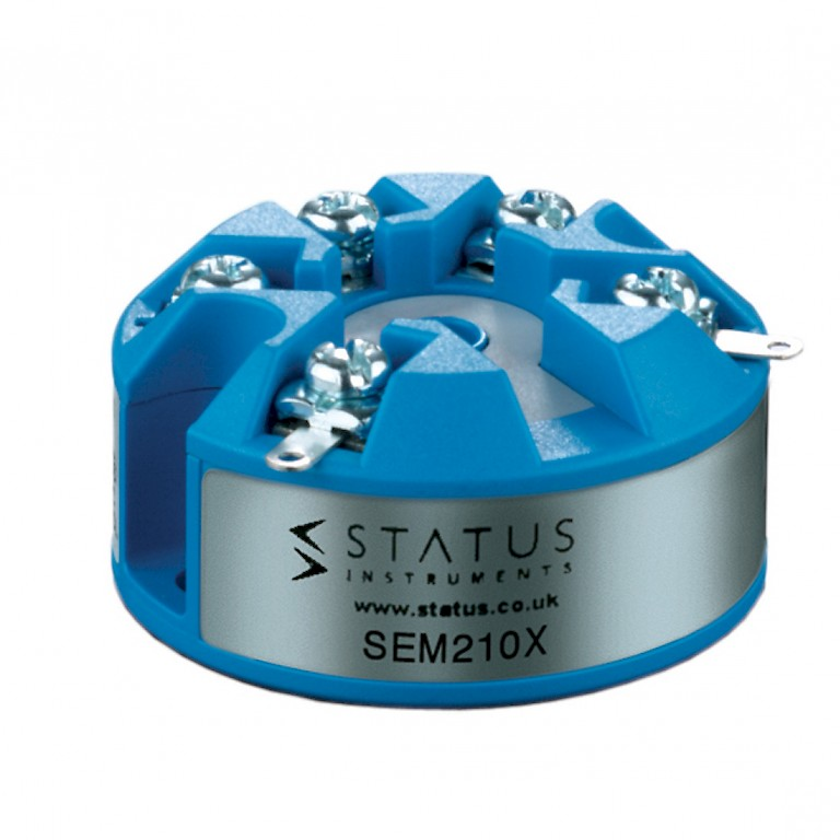 Status SEM210X In Head Atex Temperature Transmitter