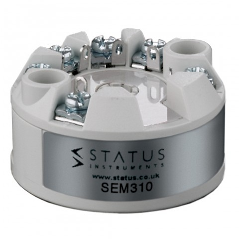 Status SEM310 In Head Temperature Transmitter
