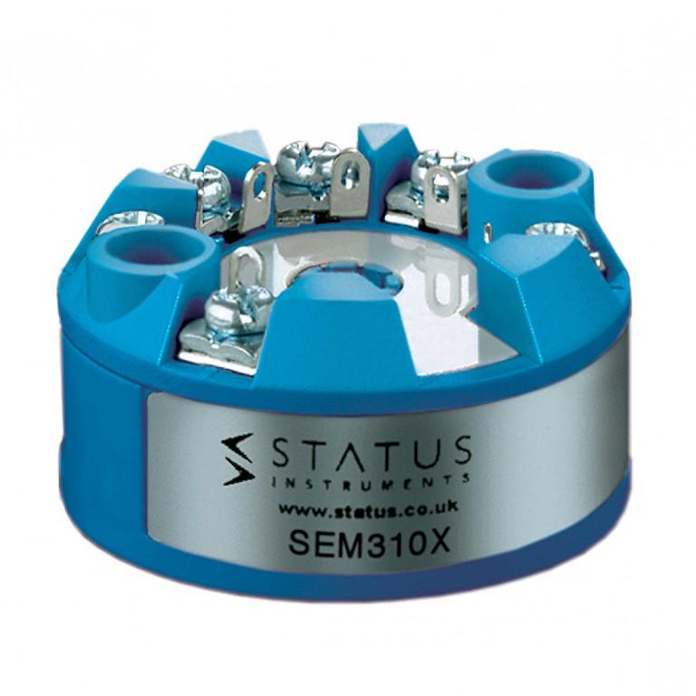 Status SEM310X In Head Atex Temperature Transmitter