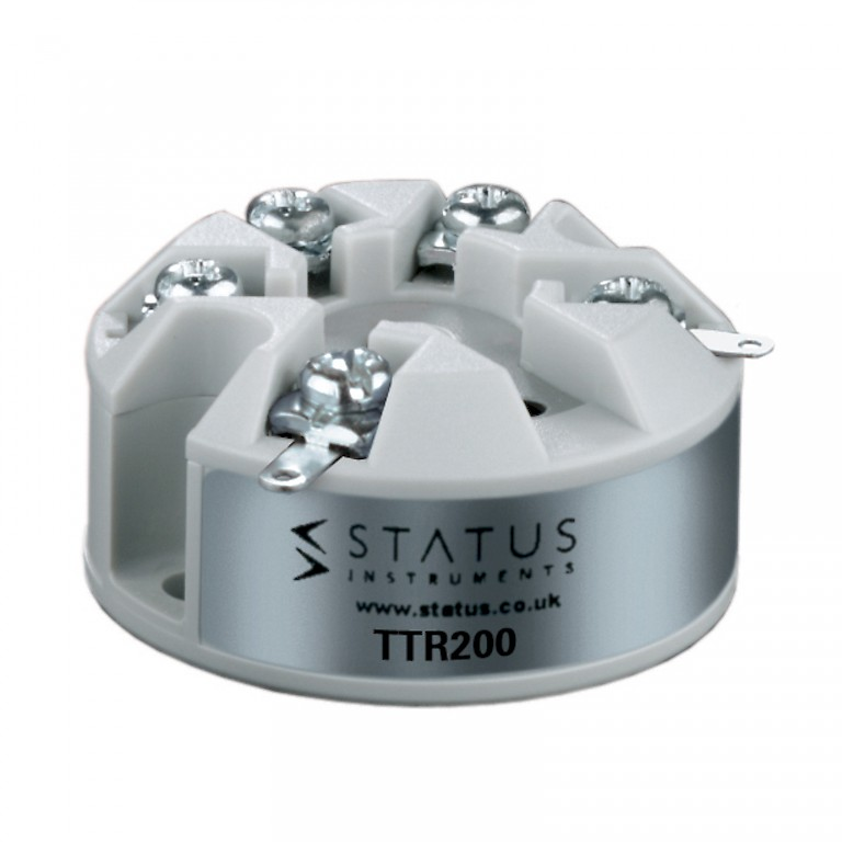 Status TTR200 In Head Temperature Transmitter