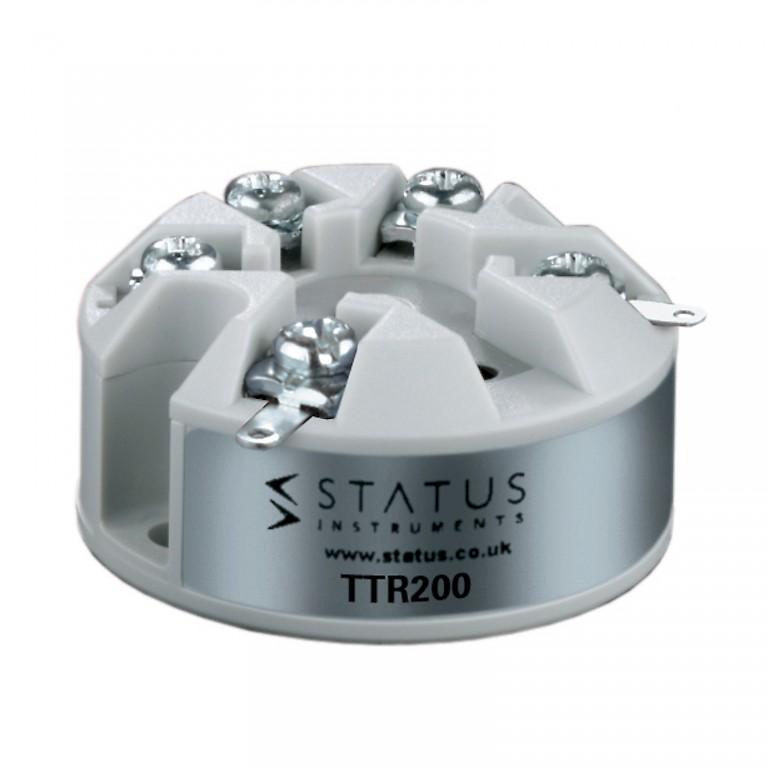Status TTR200 In Head Temperature Transmitter