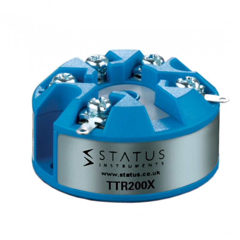 Status TTR200X In Head Atex Temperature Transmitter