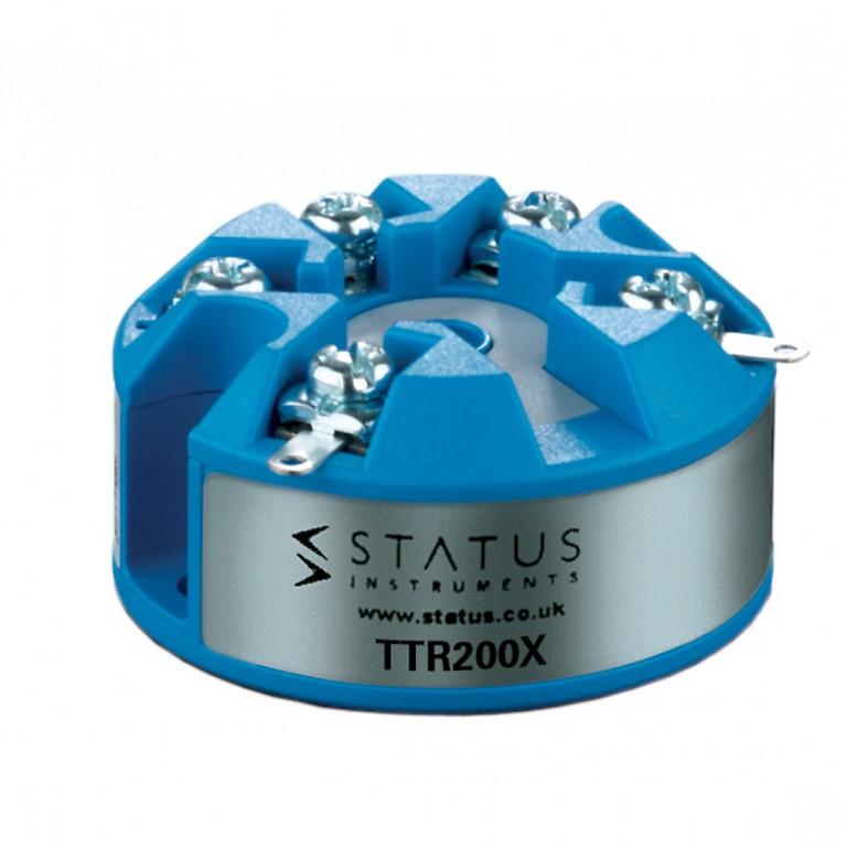 Status TTR200X In Head Atex Temperature Transmitter