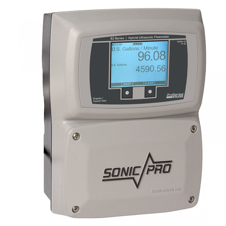 Sonic Pro S2 Clamp On Ultra Sonic Flow Meter