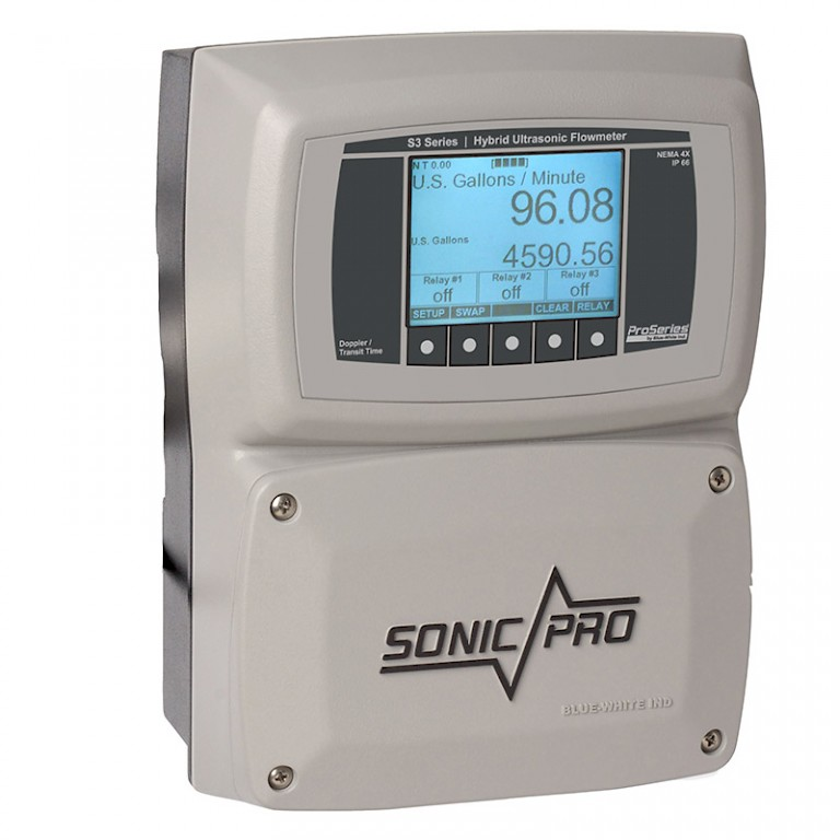 Sonic Pro S3 Clamp On Ultra Sonic Flow Meter