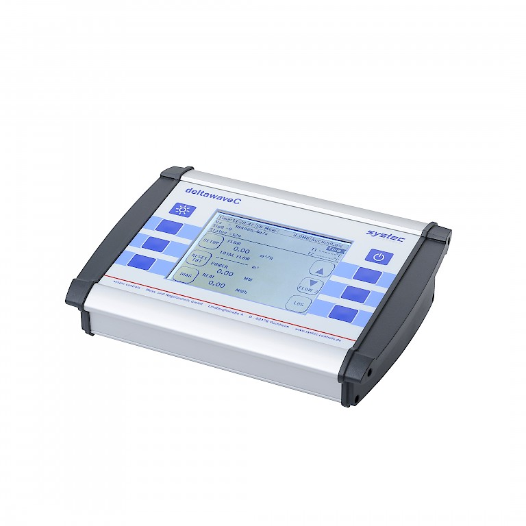 DeltaWave C Portable clamp on ultrasonic flow meter