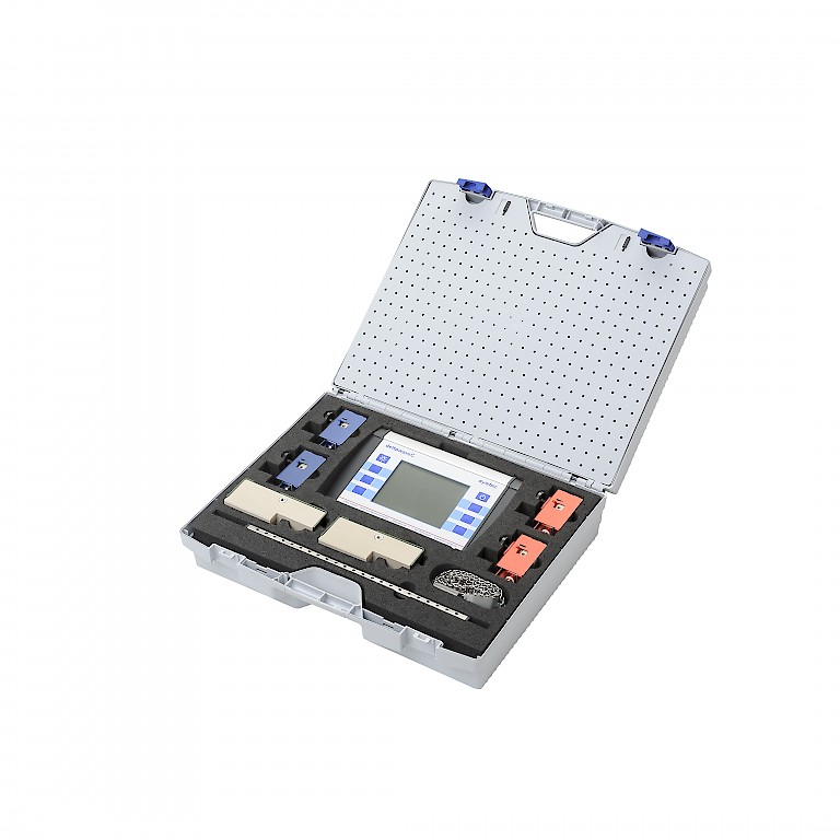DeltaWave C Portable Ultrasonic Flow Meter in Carry Case