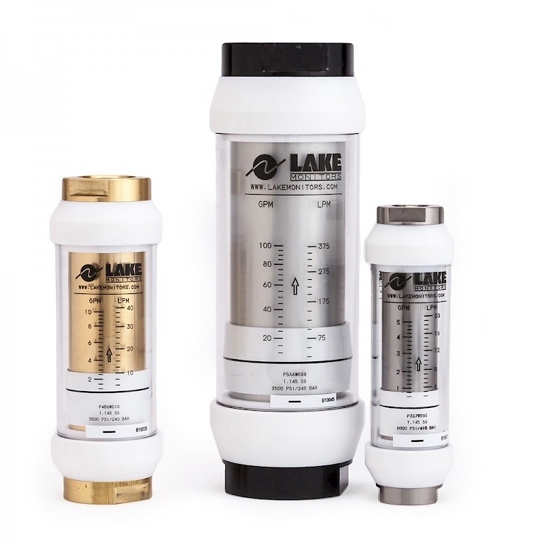 Lake H and J Series High Temperature Variable Area Flow Meter for Liquids Group