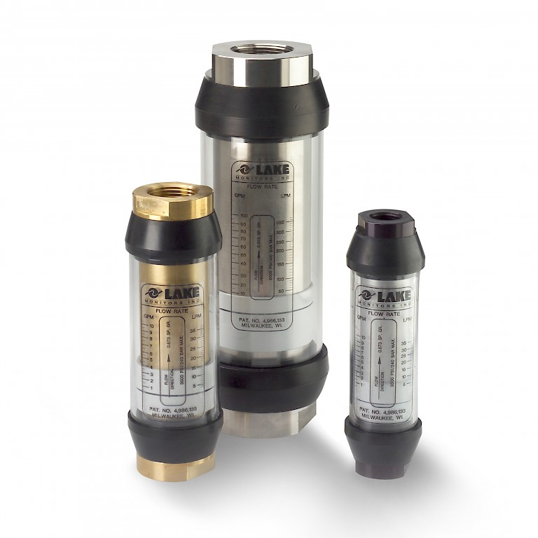 Lake G Series Pneumatic Variable Area Flow Meter for Gases