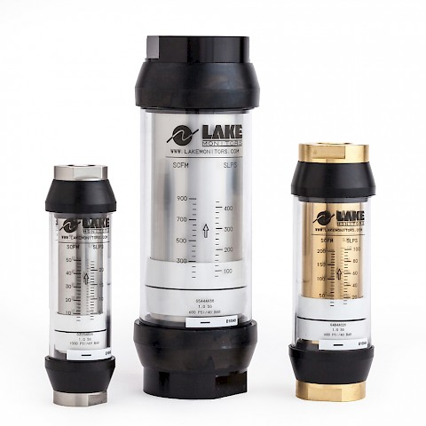 Lake G Series Variable Area Flow Meter for Gases