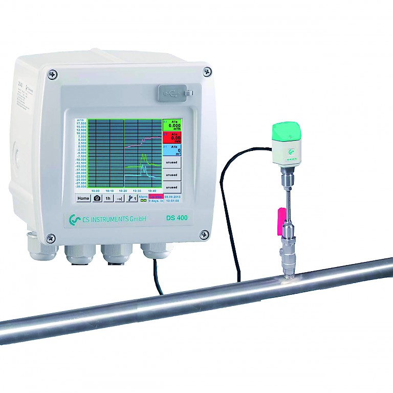 CS Instruments DS400 Flow Measurement and Data Logger