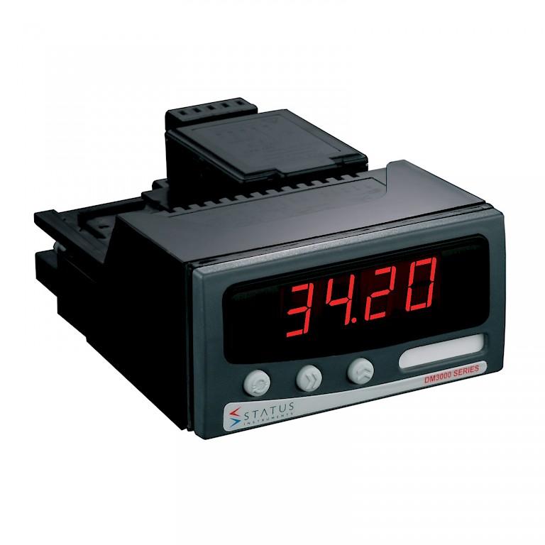 Status DM3420 Panel Meter