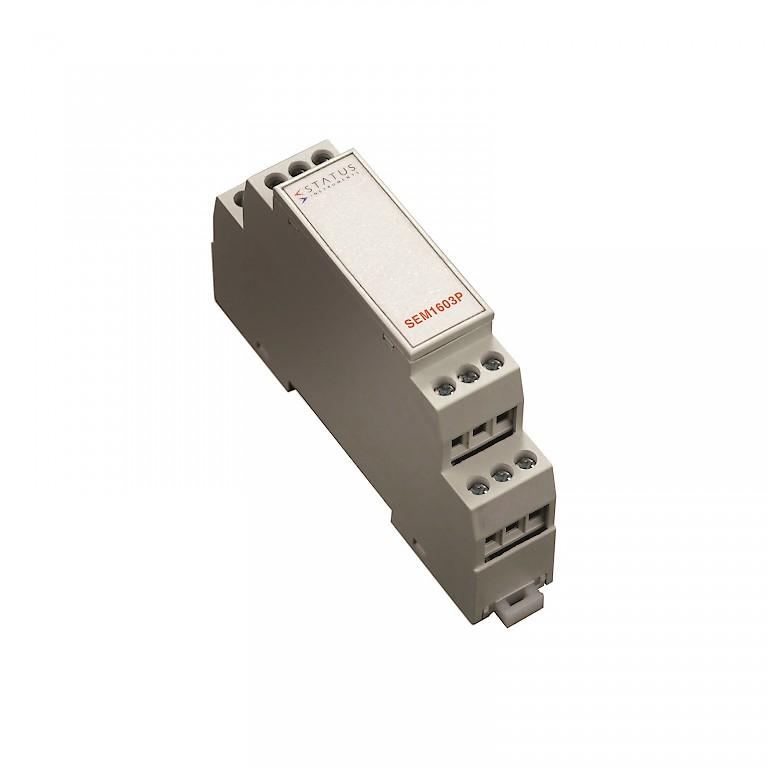 Status SEM1603P Rail Mounted Loop Powered Temperature Transmitter