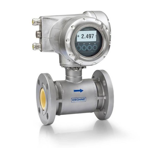 Krohne Electromagnetic Flow Meter Optiflux 7000