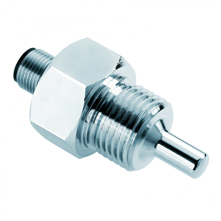 EGE Liquid Flow Senor STK Series Probe in Stainless Steel with M12 connector