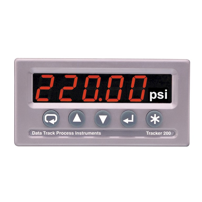 Data Track T211 Universal Input Panel Meter Front