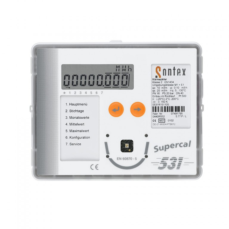 Supercal 531 Energy Integrator Front View