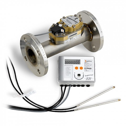 Superstatic 440 Heat Meter with Energy Integrator and temperature probes