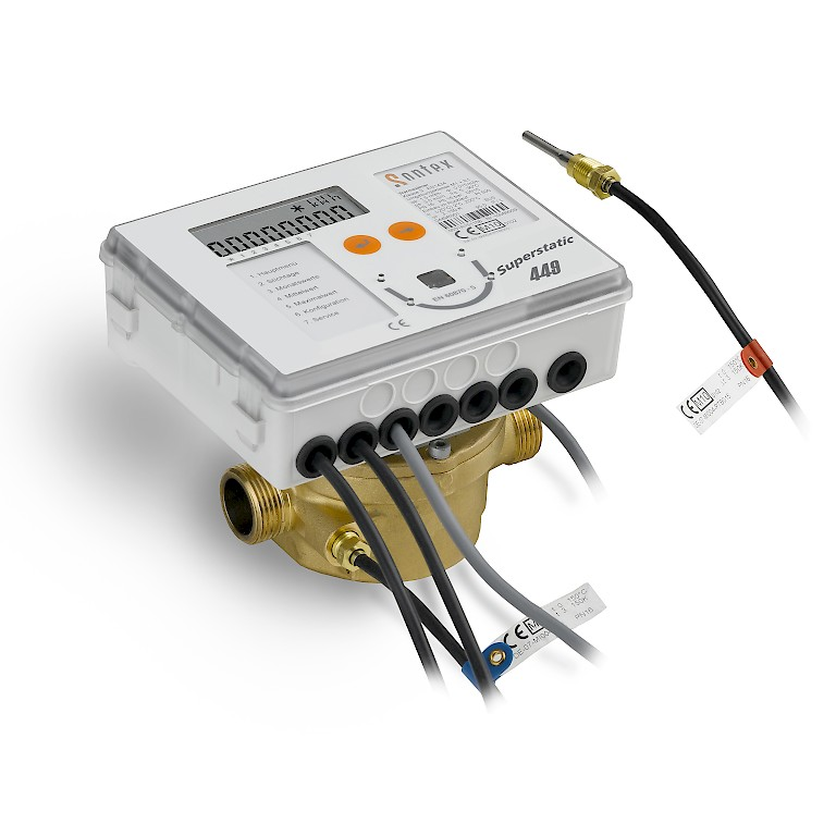 Superstatic 449 Heat Meter with Energy Integrator and temperature sensors