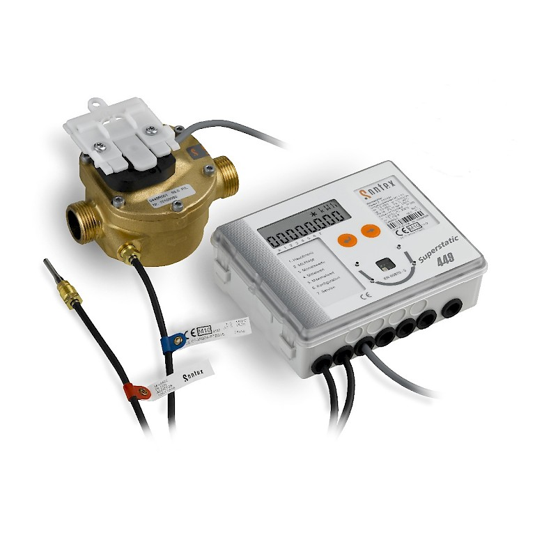 Superstatic 449 Heat Meter with Energy Integrator and Temp Sensors