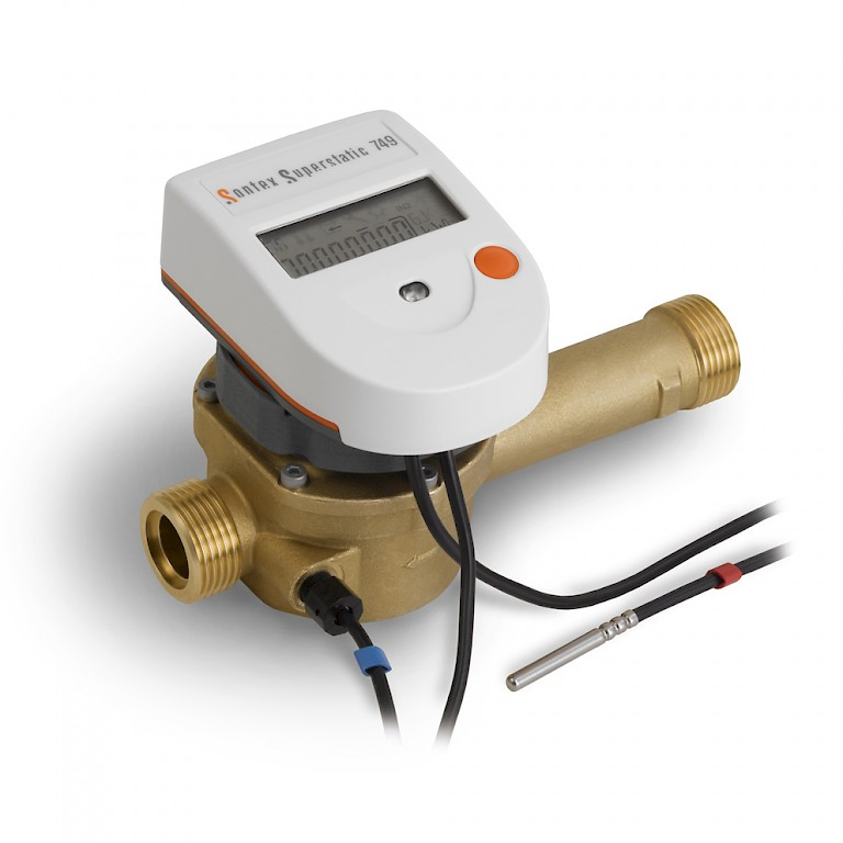 Superstatic 749 Heat Meter with Temperature Sensors