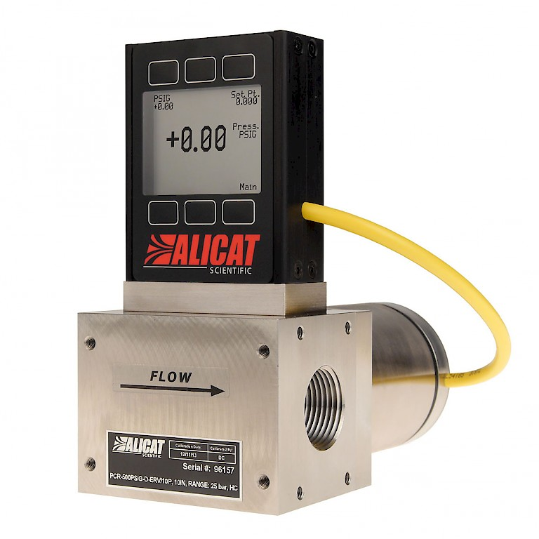 Alicat PCS PCRS Series Single Valve Pressure Controller