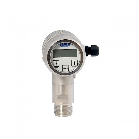 PCT Z1 Series Pressure Transmitter with Threaded Connection Front View
