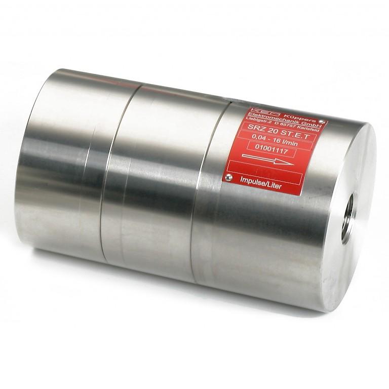 AW SRZ 20 Series Positive Displacement Gear Flow Meter Data Sheet