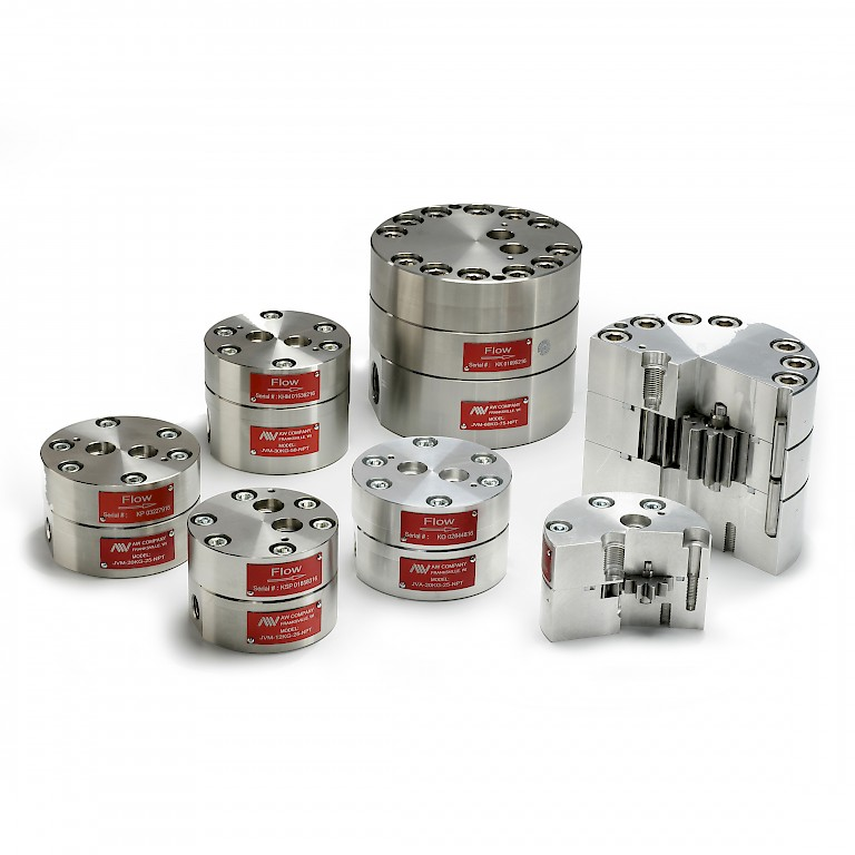 AW JV Series Positive Displacement Gear Flow Meters