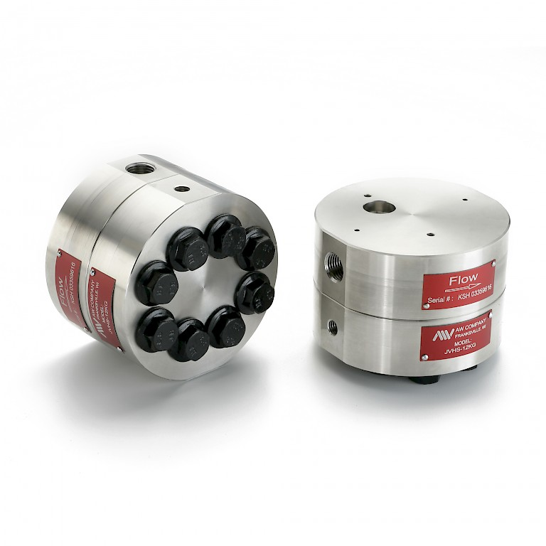 AW JVHS Series Positive Displacement Gear Flow Meter
