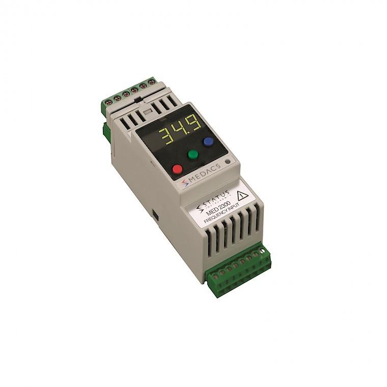 Status Medacs 2300 signal conditioner