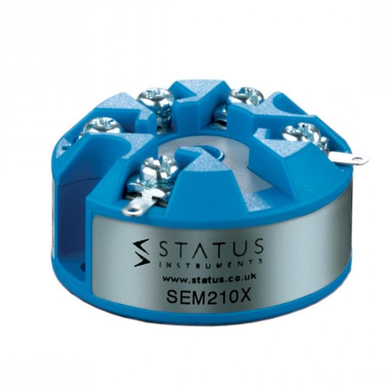 Status SEM210x atex temperature transmitter