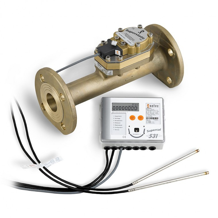 Superstatic 440 heat meter for heating and cooling applications