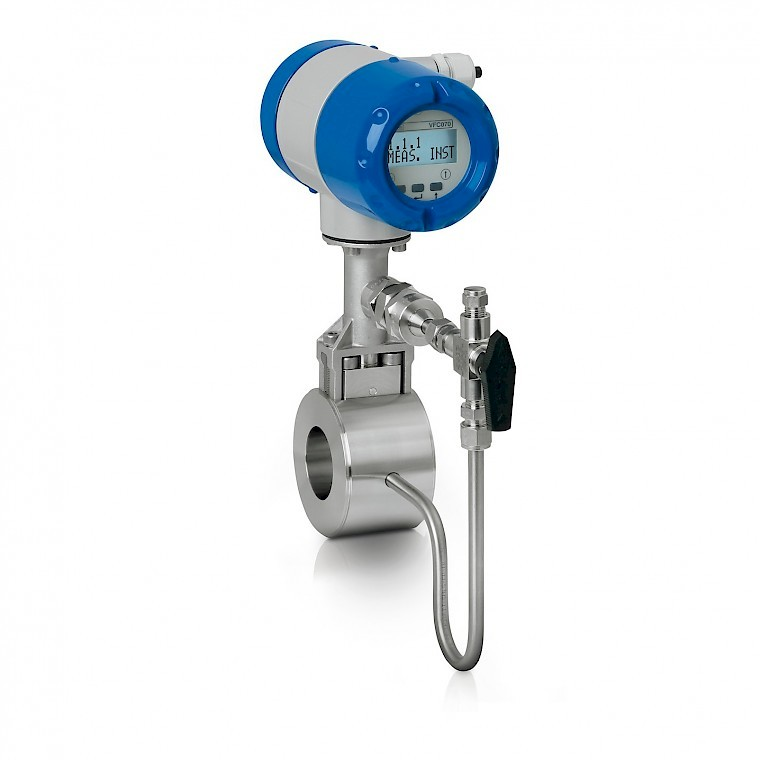 Krohne Optiswirl Vortex flow meter