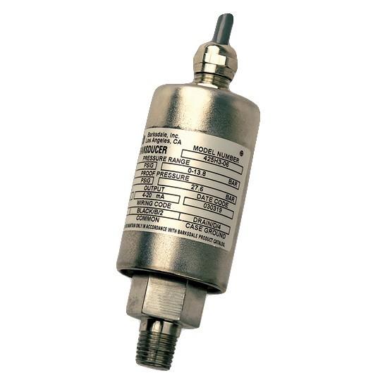 Barksdale Series 423x 425x 426x Atex Pressure Transmitter