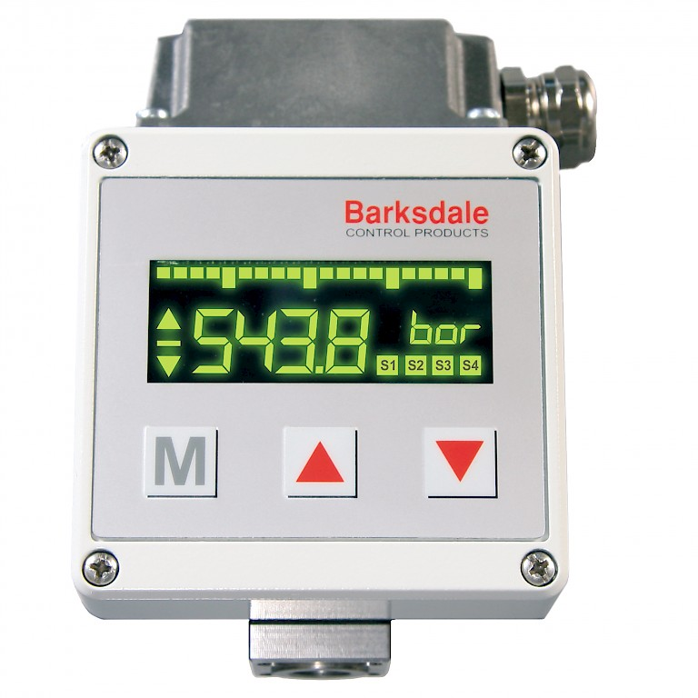 Barksdale Series UDS3 Electronic Pressure Switch Front View
