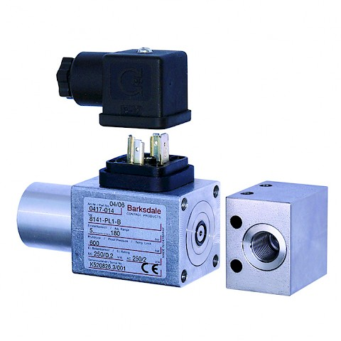 Barksdale Series 8000 Mechanical Pressure Switch
