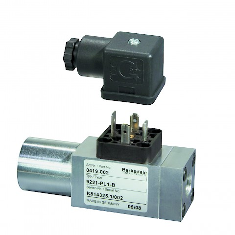Barksdale Series 9000 Mechanical Pressure Switch