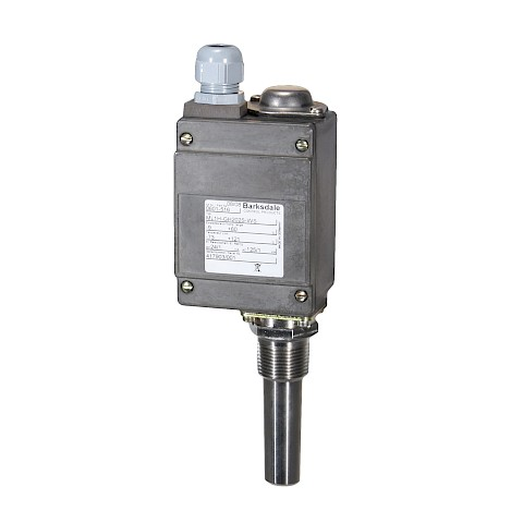 Barksdale Series ML1H L2H Temperature Switch
