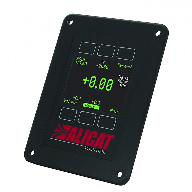 Alicat colour remote display