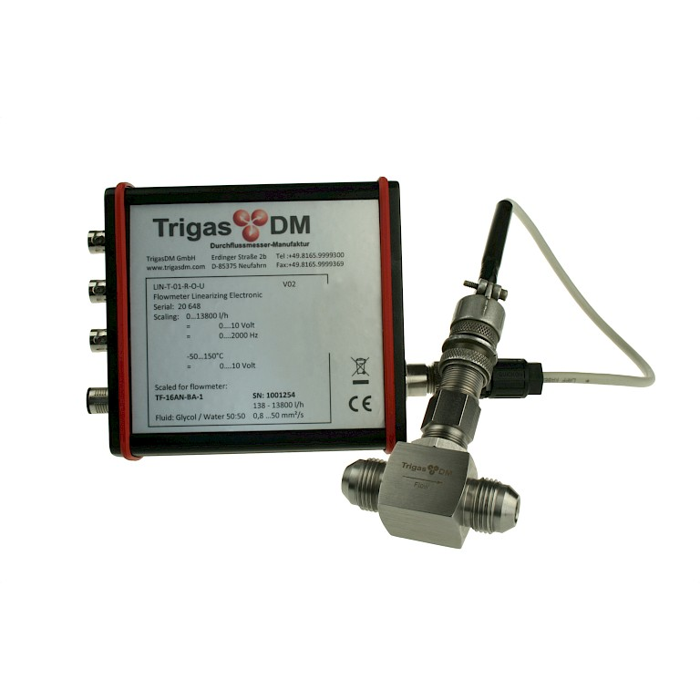 TriLIN smart flow transmitter for turbines