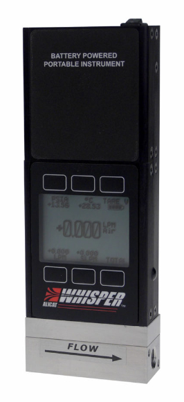 MWB–Low Pressure Drop Portable Gas Mass Flow Meters