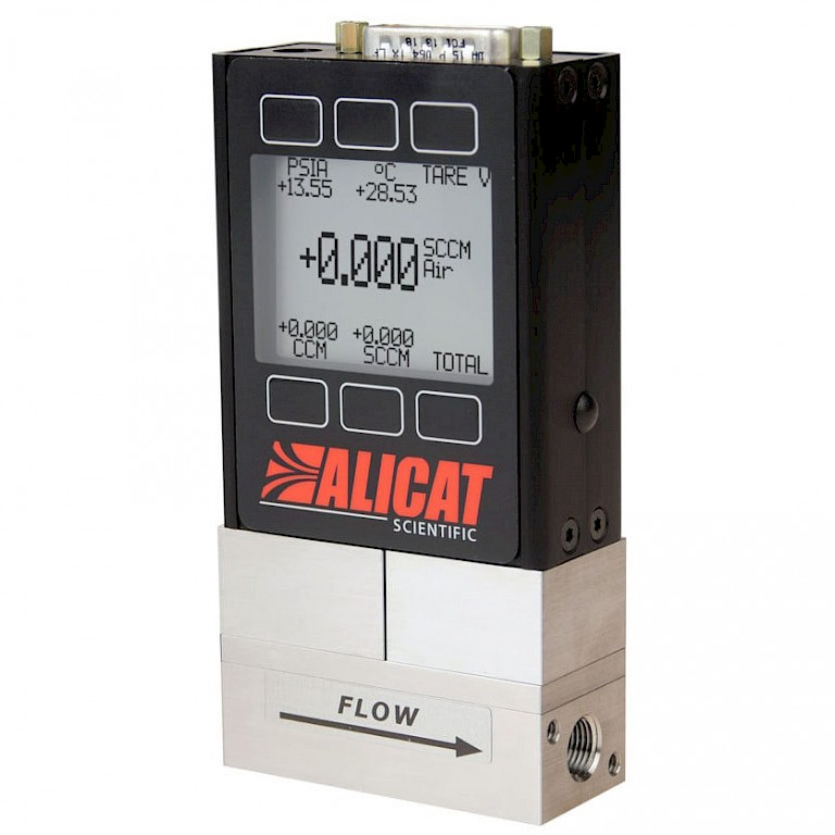 Alicat MQ Series High Pressure Mass Flow Meter