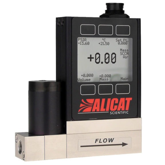 Alicat MCQ - High Pressure Gas Mass Flow Controllers