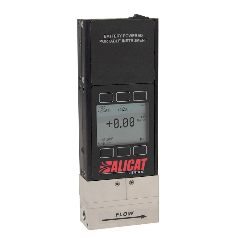 Alicat LB Series Portable Liquid Flow Meter