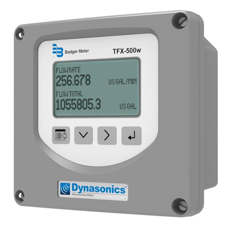 Dynasonics TFX 500w Transit Time Flow Meter
