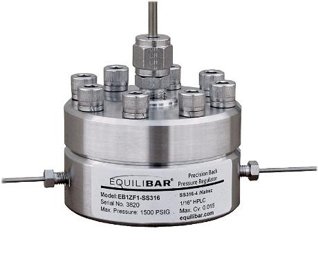 Equilibar Research Series Back Pressure Regulator
